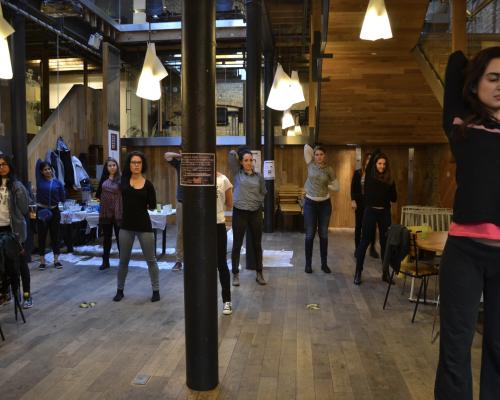 Yoga sessions impact hub kings cross York way